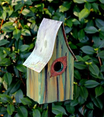Shady Shed Bird House