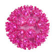"""6"""" Light Sphere, 70 Pink LED Lights"""