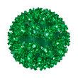 """6"""" Light Sphere, 70 Green LED Lights"""