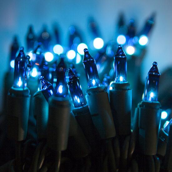 Standard Blue Mini String Lights - Yard Envy