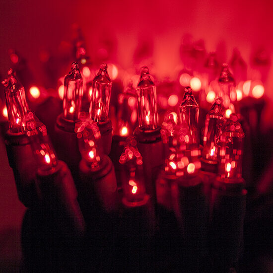 Standard Red Mini String Lights - Yard Envy