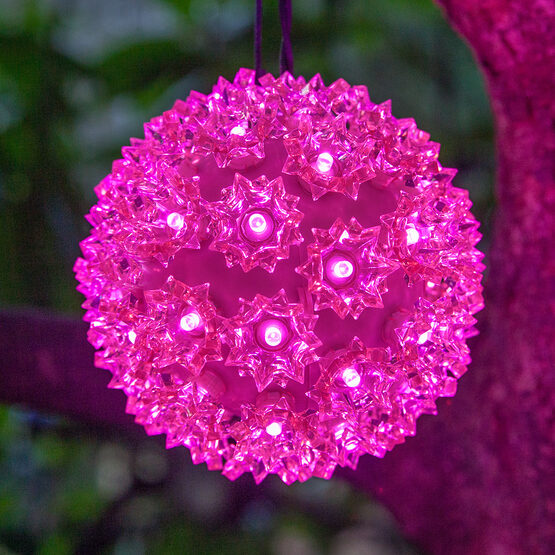 Light Sphere, Pink LED