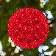 """6"""" Light Sphere, 50 Red Lights"""