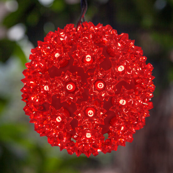 Light Sphere, Red LED