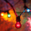 Commercial Patio String Lights, Multicolor S11 Bulbs