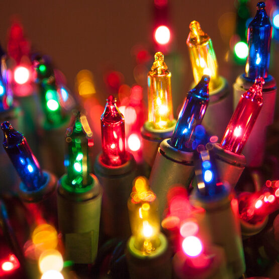 Standard Multicolor Chasing Mini String Lights
