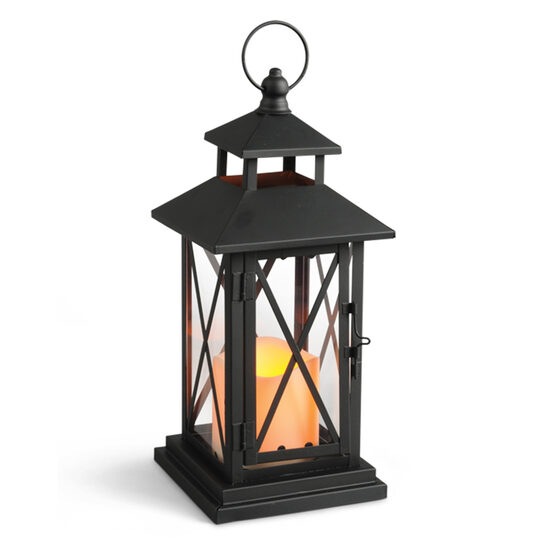 Victorian Criss Cross Outdoor Candle Lantern