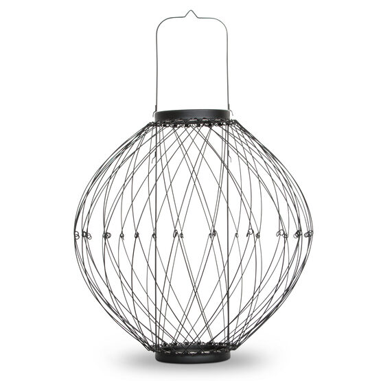 "16"" Expandable Wire Candle Lantern"