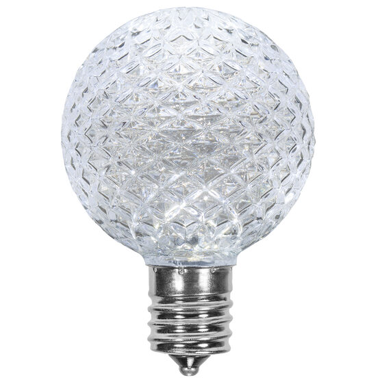 G50 Globe OptiCore TM LED Patio Light Bulb, Cool White