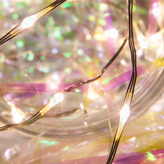 Electric Butterfly String Lights : 10 Warm White LED Fairy Light String - Yard Envy