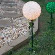 Light Sphere Stake, Clear Twinkle
