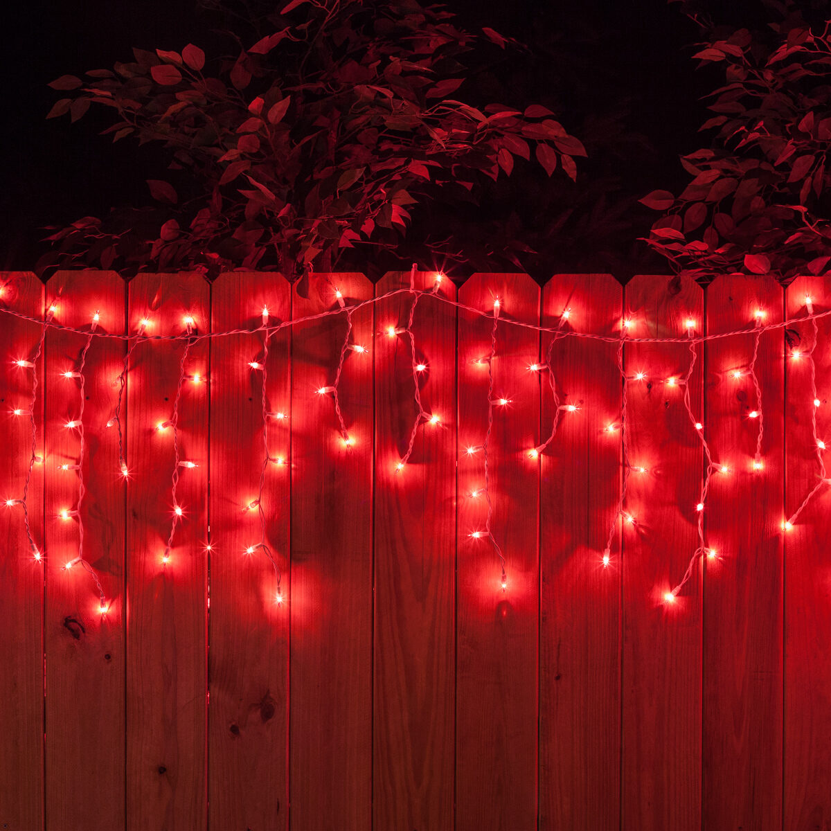 Red White Wire Icicle Lights - Dolgular.com