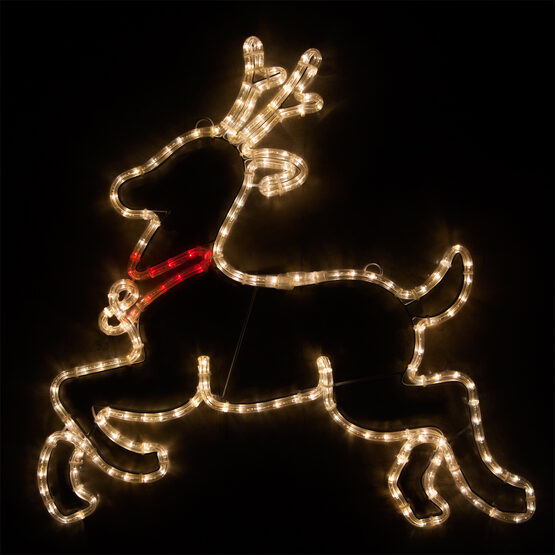 LED Reindeer, Warm White Lights