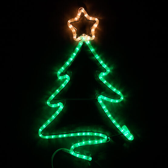 Green Christmas Tree with Star