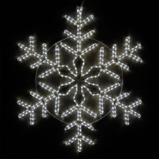 LED Cool White Snowflake