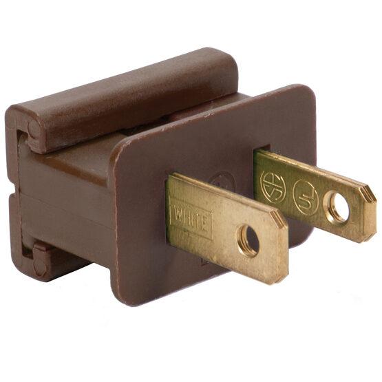 SPT1 Polarized Male Zip Plug, Brown