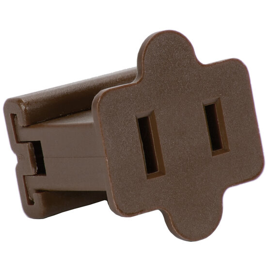 SPT2 Polarized Female Zip Plug, Brown