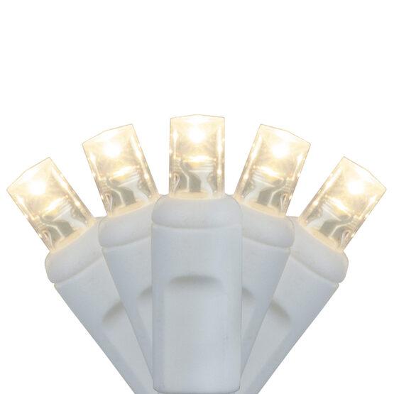 LED Craft Lights, Warm White, White Wire