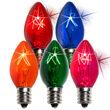 C7 Light Bulb, Multicolor Twinkle