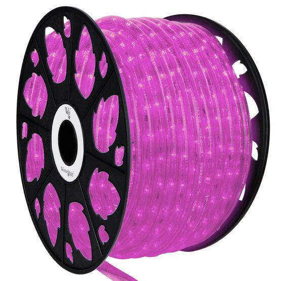150' Pink LED Rope Light, 120 Volt, 1/2