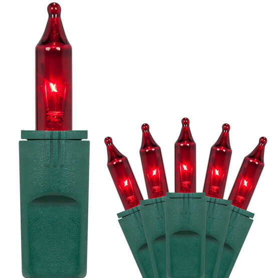 PureLock TM Red Mini String Lights
