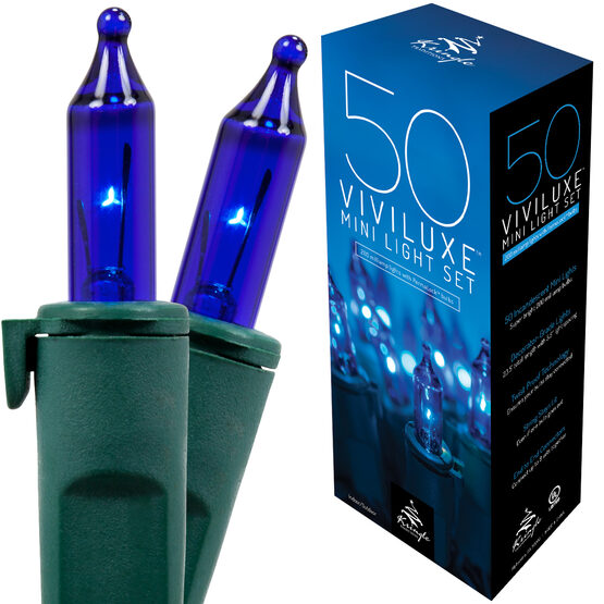 Viviluxe TM Blue Mini String Lights