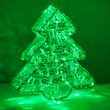 LED LED Dimensional Christmas Tree, Green Lights