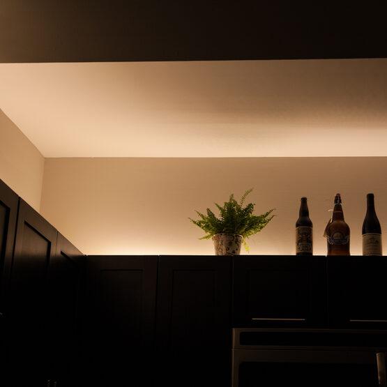Basic 12V LED Tape Light Kit, Sun Warm White