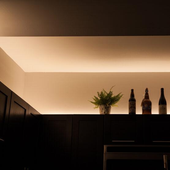 Basic 24V LED Tape Light Kit, Champagne Warm White