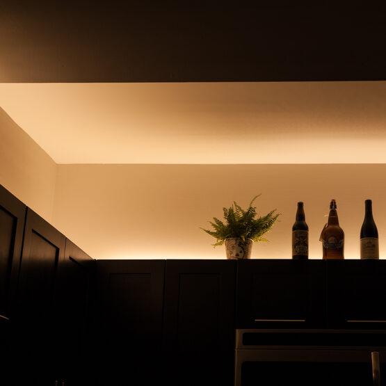 Basic 24V High Output LED Tape Light Kit, Sun Warm White