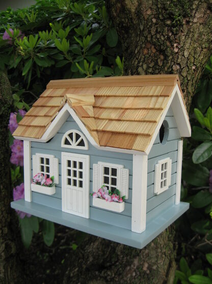 Nantucket Cottage Bird House