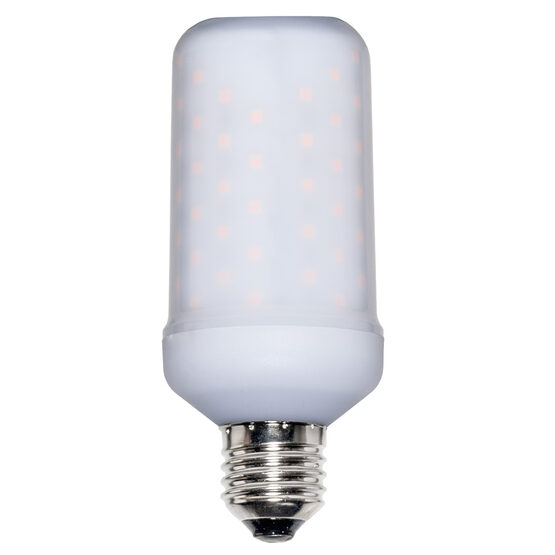 LED Animated Digital Flame Bulb
