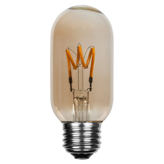 S14 T45 Globe Light LED Edison Light Bulb, Warm White Antiqued