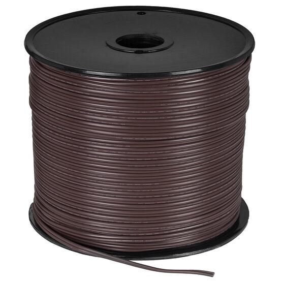 Brown Outdoor Electrical Zip Cord Wire, 18 Gauge