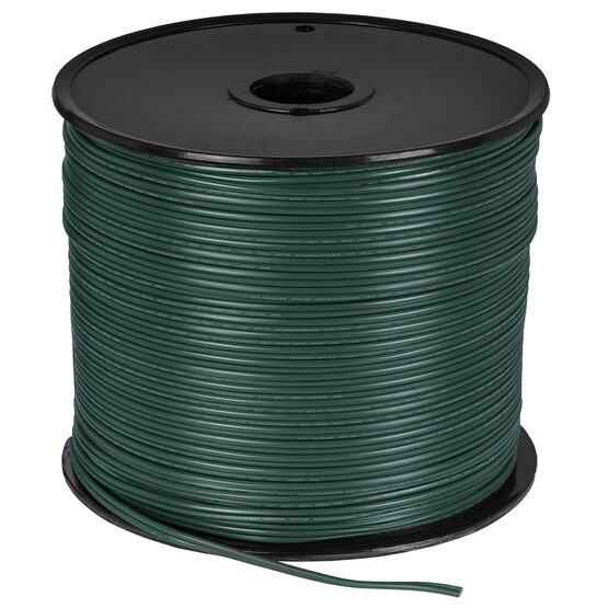 Green Outdoor Electrical Zip Cord Wire, 18 Gauge