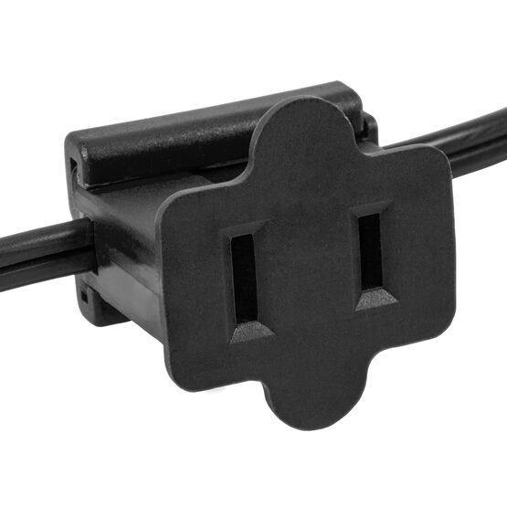 SPT2 Polarized Inline Zip Plug, Black