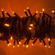 Orange Halloween String Lights, 50 ct, LED Mini