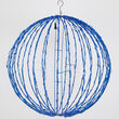 Light Ball, Fold Flat Blue Frame, Blue LED