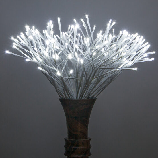 White Starburst LED Lighted Branches, Cool White Twinkle Lights, 1 pc