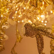 Gold Starburst LED Lighted Branches, Warm White Twinkle Lights, 1 pc