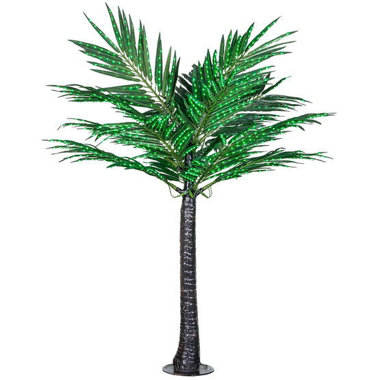 Deluxe Commercial LED Lighted Palm Tree