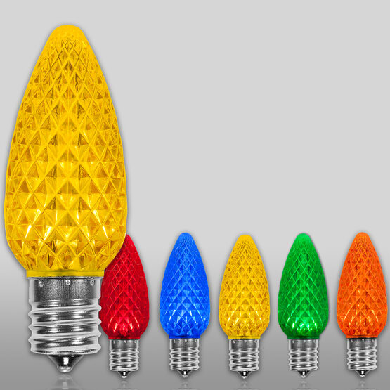 C9 OptiCore LED Light Bulb, Multicolor