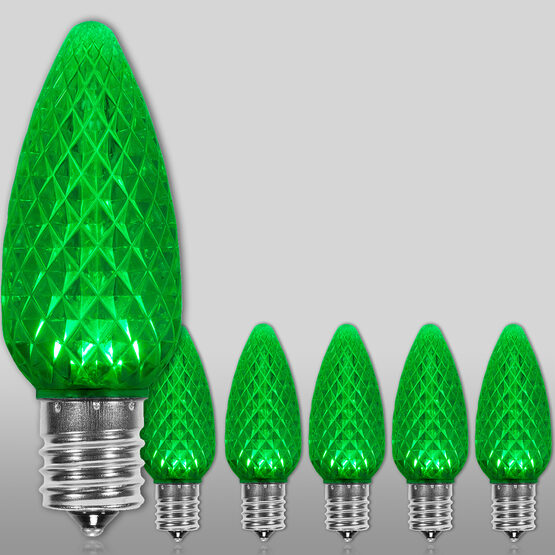 C9 OptiCore LED Light Bulb, Green