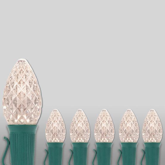 Opticore TM C7 Commercial LED String Lights, Warm White