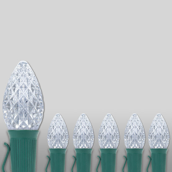 Opticore TM C7 Commercial LED String Lights, Cool White