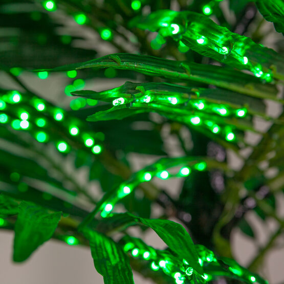 Deluxe Commercial LED Lighted Palm Tree With Base