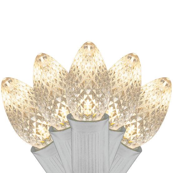 C7 Commercial LED String Lights, Warm White, 25'