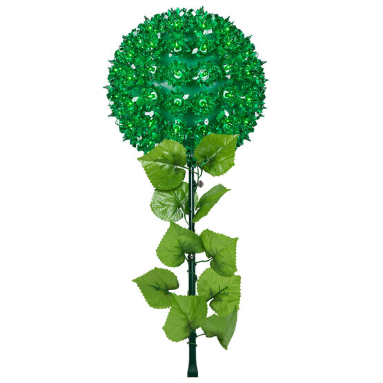 Light Sphere Stake, Green
