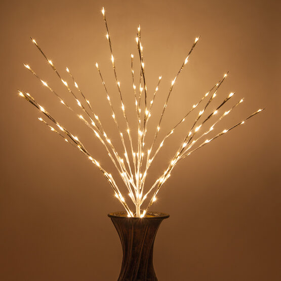 White LED Lighted Branches, Warm White Lights, 1 pc