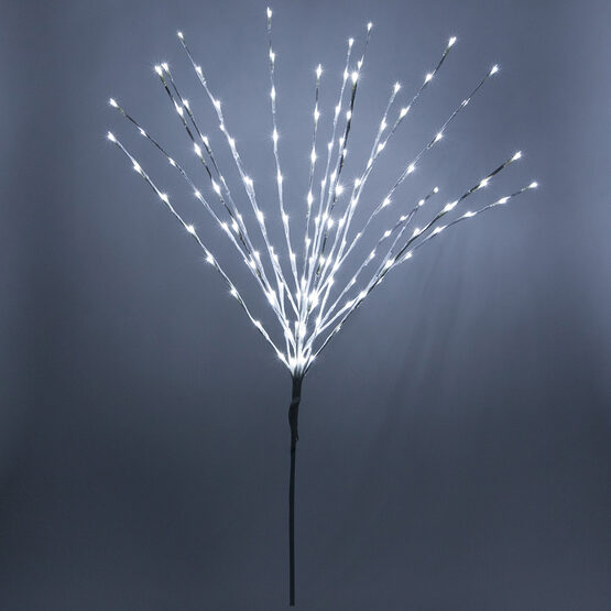 White LED Lighted Branches, Cool White Lights, 1 pc